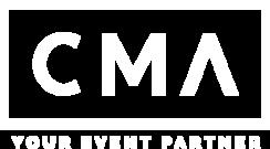 Białe logo Concept Music Art
